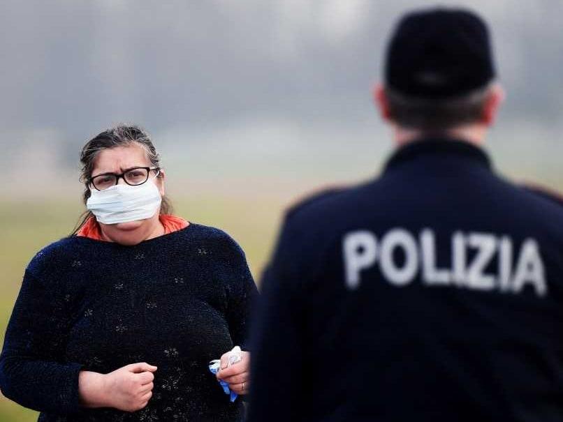 Italian Sport In Quarantine Over Coronavirus Outbreak