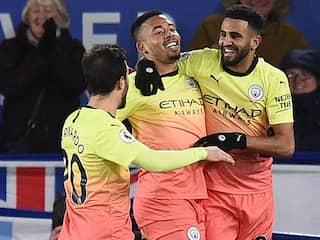 Gabriel Jesus Strikes as Manchester City Shrug Off Spot-Kick Jitters To Beat Leicester