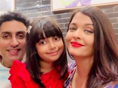 Inside Aishwarya And Abhishek Bachchan's Valentine's Day Celebrations With Aaradhya