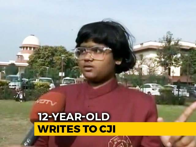 Video : A 12-Year-Old's Petition To Chief Justice On Shaheen Bagh Baby's Death