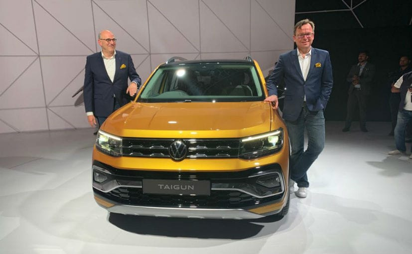 Auto Expo 2020 Volkswagen Taigun Compact Suv Revealed For India