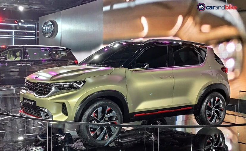 The Kia Sonet subcompact SUV will take on the likes of the Hyundai Venue