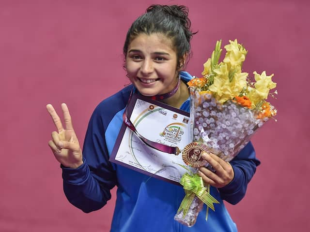 Asian Wrestling Championship: Indian Women Dominate With 3 Gold Medals