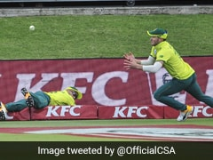 Watch: Du Plessis, Millers Sensational Relay Catch Against Australia