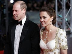 BAFTAs 2020: Kate Middleton's Dazzling White And Gold Gown Does Double Duty On The Red Carpet
