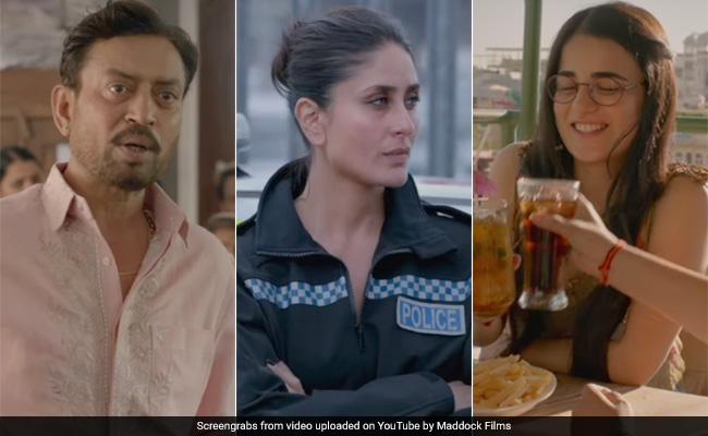 Angrezi Medium Trailer: Irrfan Khan's Misadventures In London. Kareena Kapoor Is Tough Cop