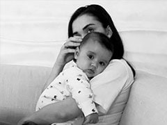 All Hearts For Amy Jackson's Son Andreas