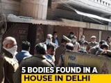 Video : Decomposed Bodies Of 5 Of Family Found At Delhi Home, Suicide Suspected