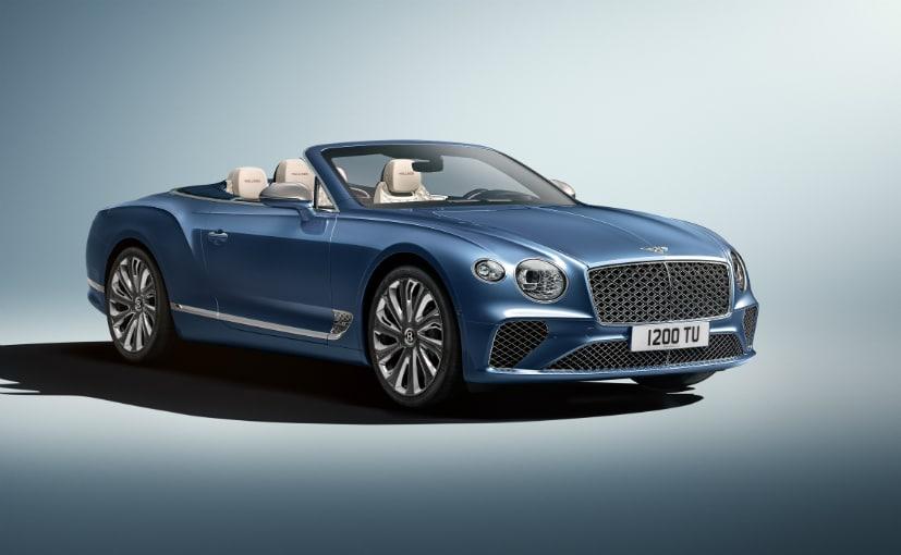 Se revela Bentley Continental GT Mulliner 34