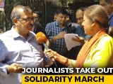Video : Bengaluru Journalists' Solidarity With Delhi Reporters