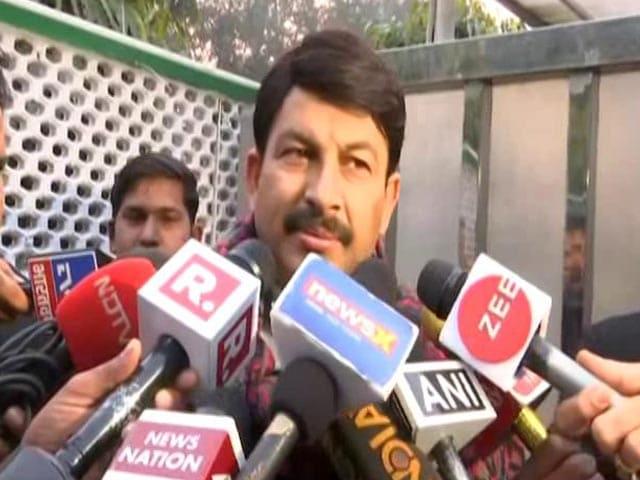 Video : BJP Could Get 55 Seats, Says Its Manoj Tiwari, Ups Earlier Estimate