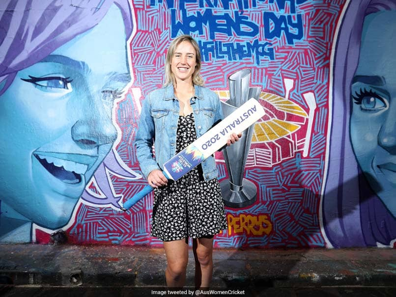 Ellyse Perry Unveils Melbourne Mural Ahead Of Womens T20 World Cup
