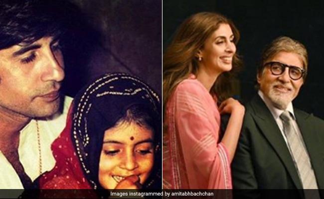 Amitabh Bachchan's Daughter Appreciation Post For Shweta Has A Throwback Sneak Peek