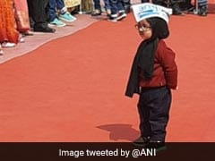 """Baby Mufflerman"" A Special Invitee At Arvind Kejriwal Oath"