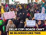 Video : 1,000 Women Block Delhi Road Over CAA, Back Bhim Army's Strike Call