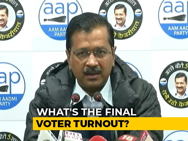 "Video : ""Absolutely Shocking"": Arvind Kejriwal As Poll Body Sits On Delhi Turnout"