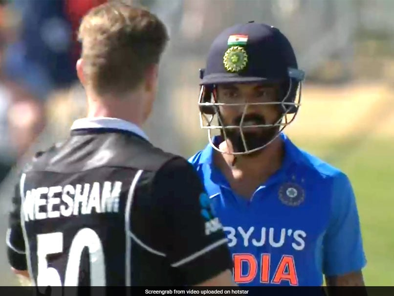 """Lets Settle This In April"" KL Rahul Responds To Jimmy Neeshams Challenge"