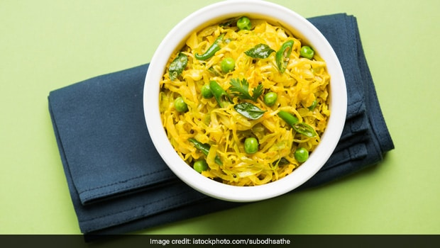 Watch: Make This Healthy Cabbage And Peas (Patta Gobhi Matar) Sabzi When You Want A Light Meal (Recipe Video)