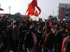 Protests Erupt Over Removal Of Shivaji Bust In Madhya Pradesh Town