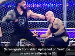 WWE Super ShowDown 2020: रोमन रेंस ने पिंजरे के अंदर Superman पंच जड़कर किया ऐसा... देखें पूरे मैच का Video