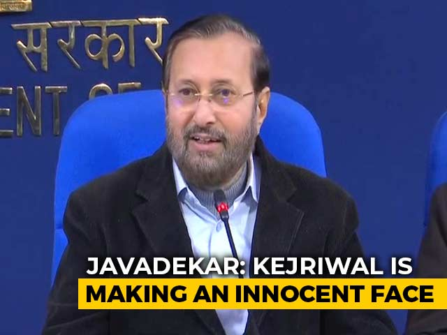 "Video : ""You're A Terrorist, Plenty Of Proof"": Union Minister To Arvind Kejriwal"