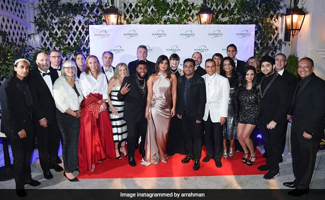 AR Rahman's Pre-Grammys Throwback Pic Also Features Priyanka Chopra. Seen Yet?