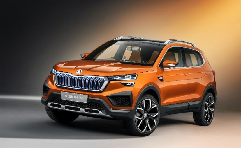 The Skoda Vision IN will go on sale in India before its sibling, the Volkswagen Taigun