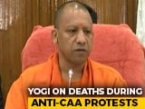"Video : Controversy Over Yogi Adityanath's ""Death Wish"" Remark On CAA Violence"