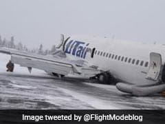 Utair Boeing Belly Lands In Russia After Gear Malfunction, All 100 Onboard Safe