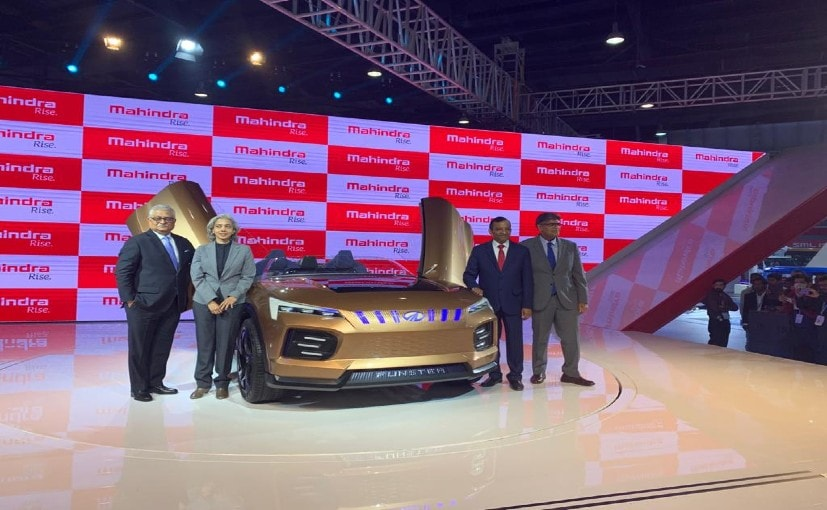 The Mahindra Funster Concept gets a muscular and aggressive looking front end