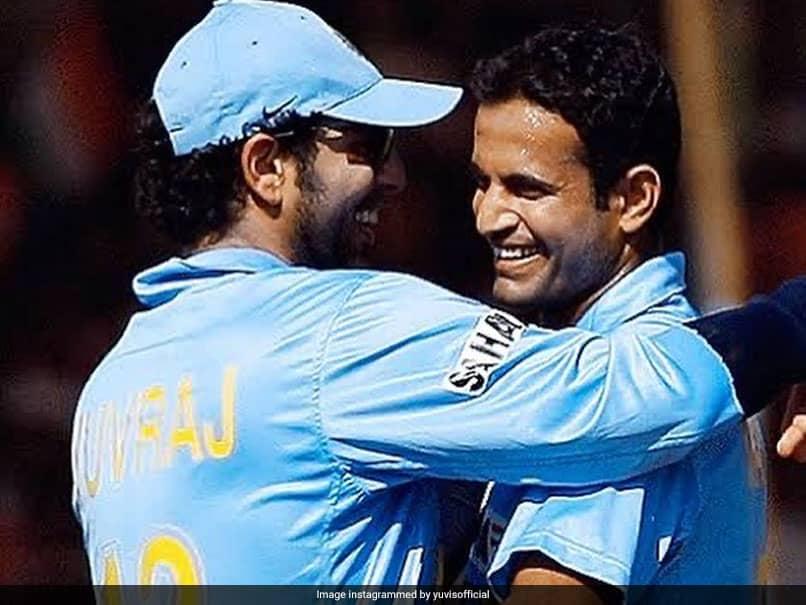 """""""Chehre Se Match Nahi Kar Rahe"""": Irfan Pathan Takes Funny Dig At Yuvraj Singh"""
