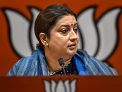 Congress Seeking Benefit From Challenges Country Facing: Smriti Irani