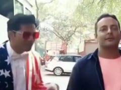वरुण धवन ने डोनाल्ड ट्रंप के वेलकम के लिए पोस्ट किया था यह फनी वीडियो, फिर कर दिया डिलीट- देखें Video