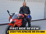 Video : 2020 TVS Apache RR 310 First Ride Review