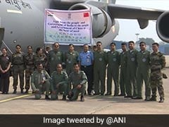 Indian Air Force Flight Leaves For China Carrying 15 Tonnes Of Medical Supplies