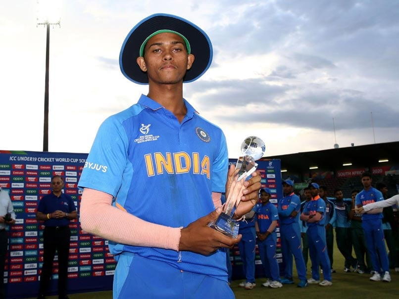 Jaiswals U-19 World Cup Man Of The Series Trophy Broken In 2: Report
