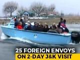 Video : Envoys In Kashmir Take Boat Ride On Dal Lake, Meet With Entrepreneurs