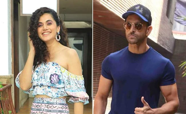 Taapsee Pannu Reveals Her Masterplan To Do A Film With Hrithik Roshan thumbnail