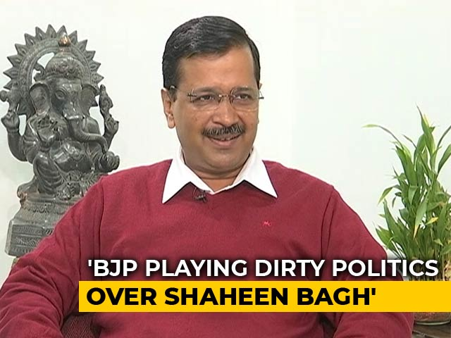 "Video : ""Amit Shah Is So Powerful, He Can't Get A Road Opened?"": Arvind Kejriwal"