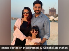 Abhishek Bachchan's 44th Birthday Was A Close-Knit Affair With A Cutesy Cake