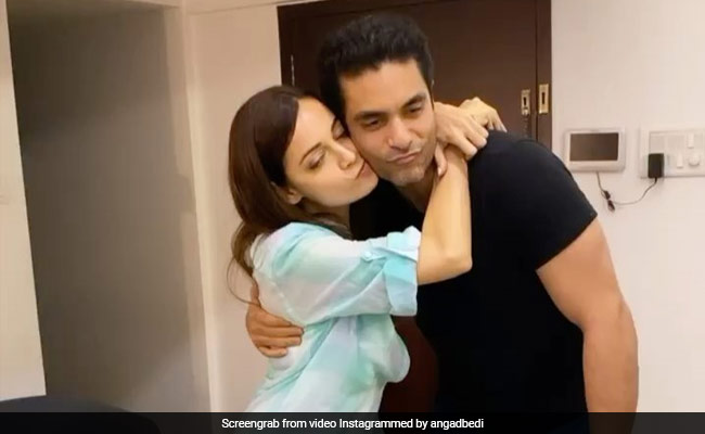 Angad Bedi Couldn't Watch Dia Mirza's Thappad, So Here's What The Actress Did
