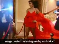 कैटरीना कैफ ने रेड कारपेट पर रेड ड्रेस में कुछ यूं बिखेरे जलवे,  Video देख आप भी कहेंगे Wow!