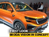 First Look Skoda Vision In Concept