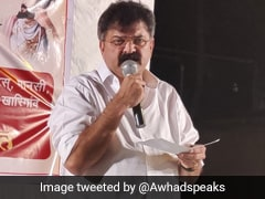 Maharashtra Minister Jitendra Awhad Apologises After Using Cuss Words Against Reporter At Event