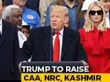 Video : Trump Will Raise Religious Freedom With PM Modi In India: US Official