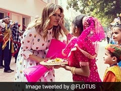 "Melania Trump Recaps Visit To ""Happiness Class"" At Delhi School"