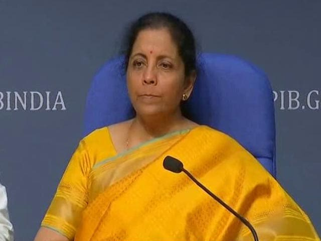 Video : All Income Tax Exemptions to Go In The Long Run, Says Nirmala Sitharaman