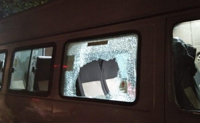 Stones Thrown At Kanhaiya Kumar's Convoy After Public Meeting In Bihar