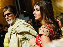 Wedding Diaries: Shweta's One-Word Caption For Dad Amitabh Bachchan Says It All