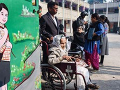 As Delhi Slacks On Voting Day, 111-Year-Old Woman Shows How It's Done